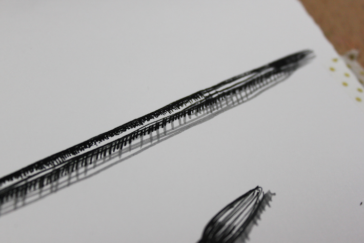 pen and ink texture example