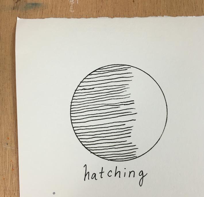 hatch pen texture