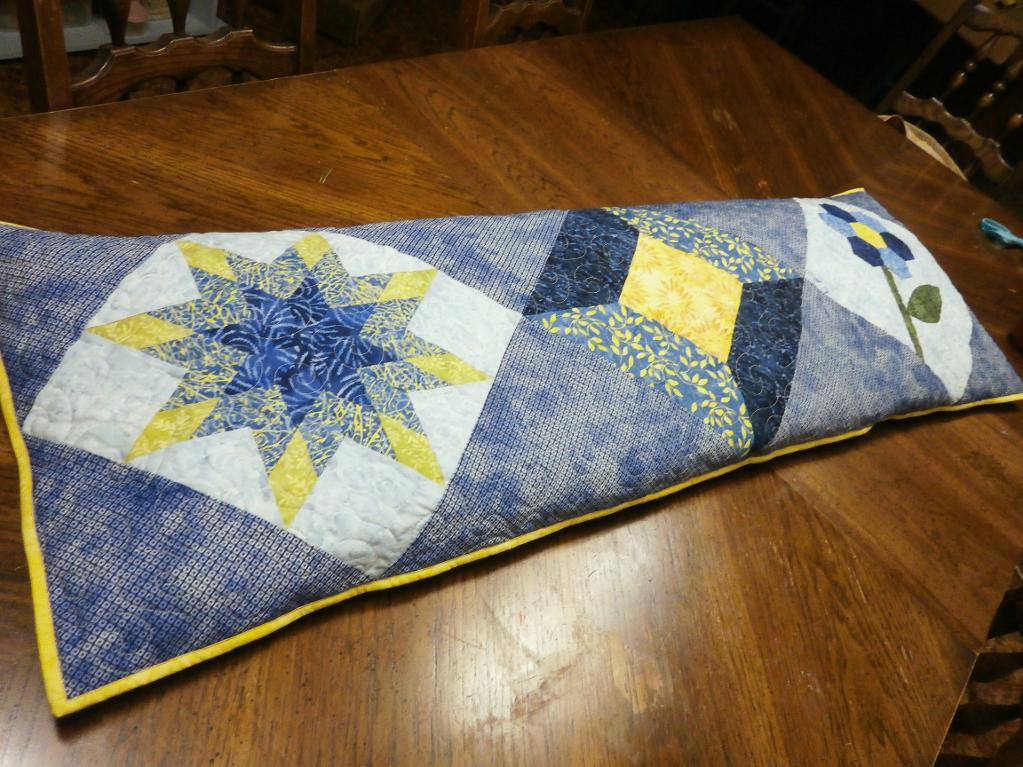 quilted body pillow
