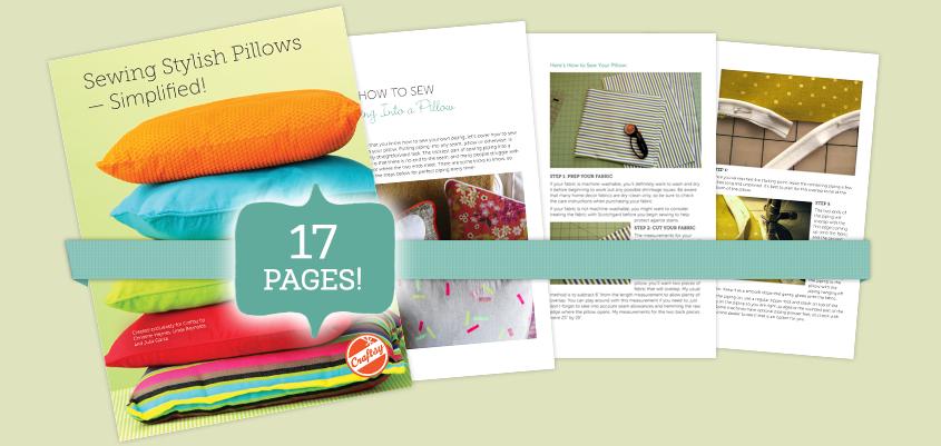 sew stylish pillows guide