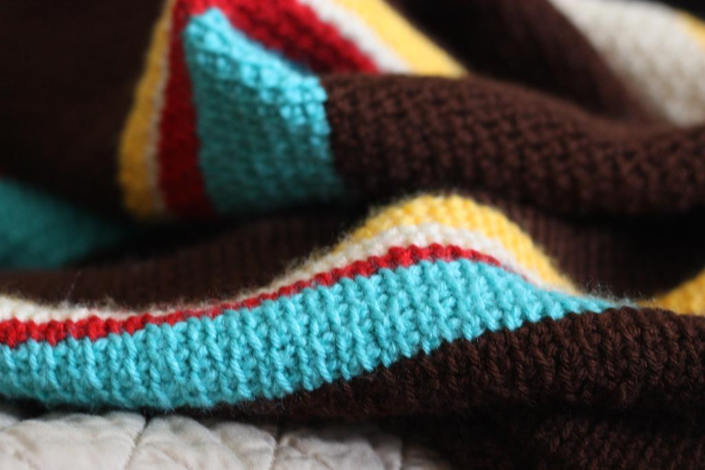 tunisian tweed crochet blanket pattern