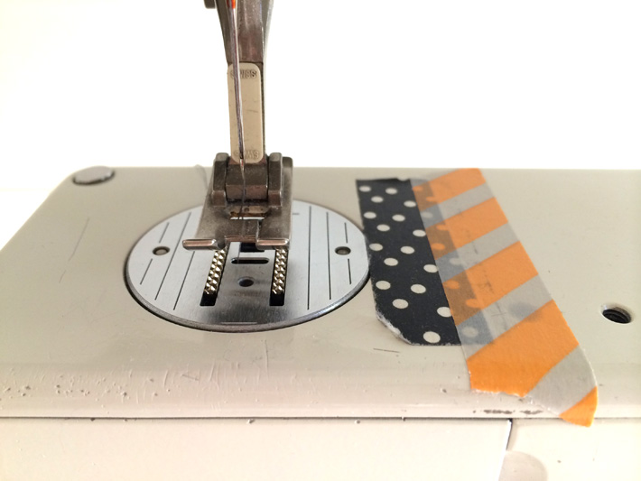 Helpful tips for how to sew a straight line