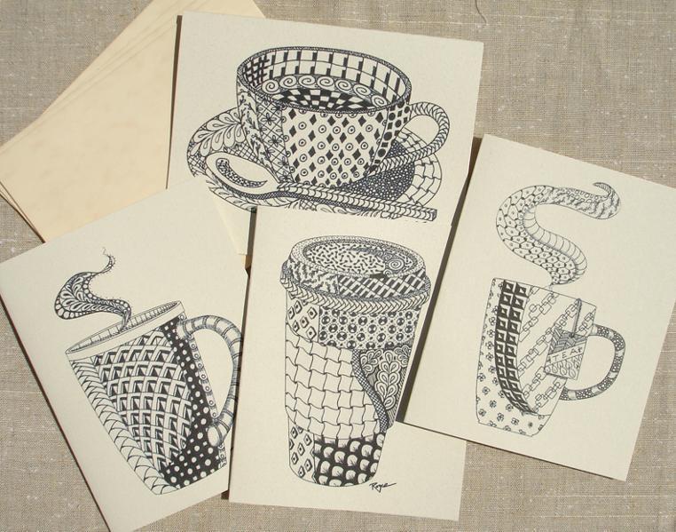 zentangle notecards