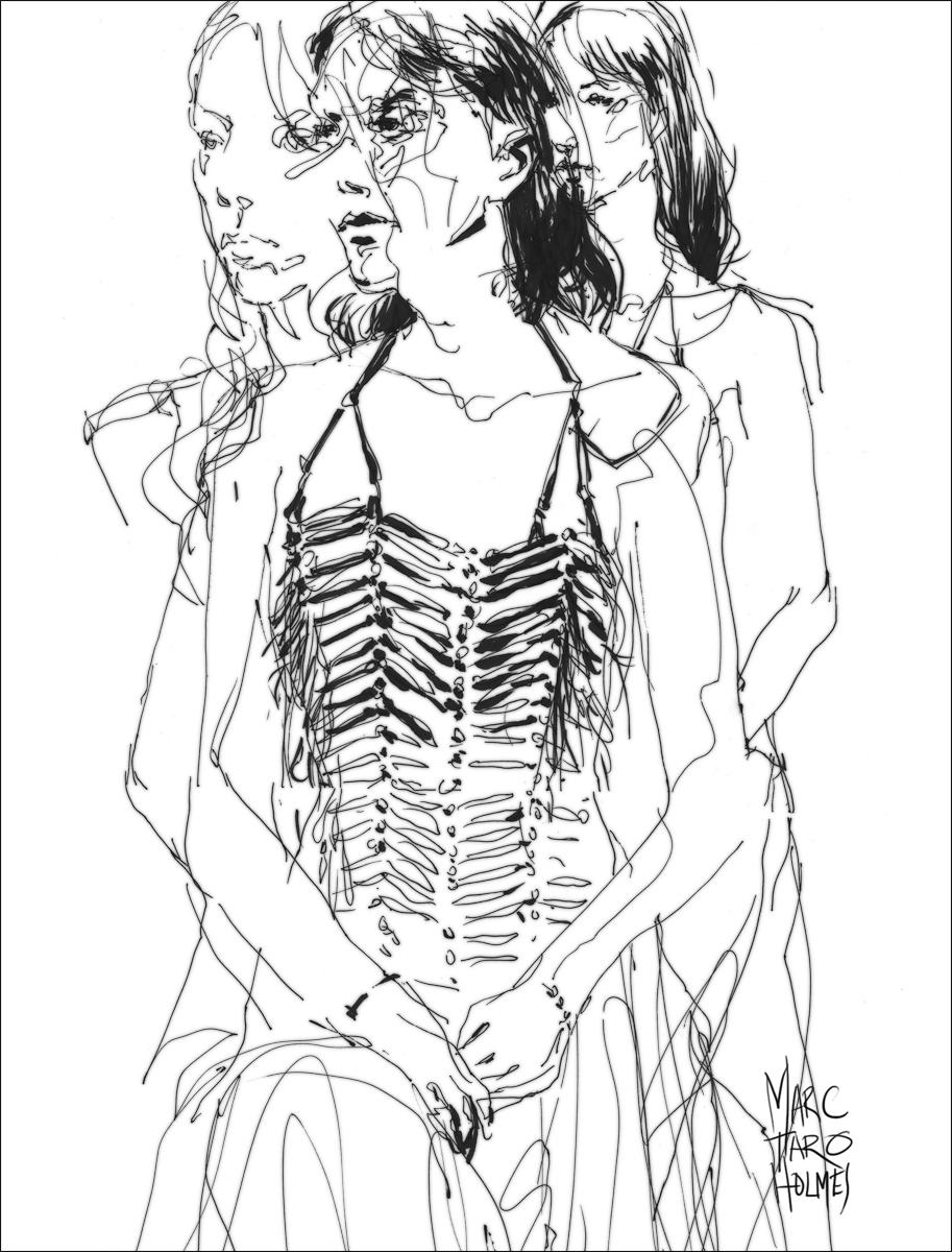 Sketch by Marc Taro Holmes