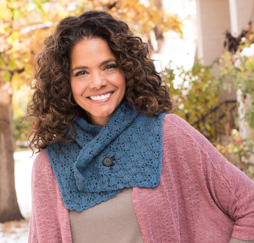 Radiant Shawlette Crochet Kit