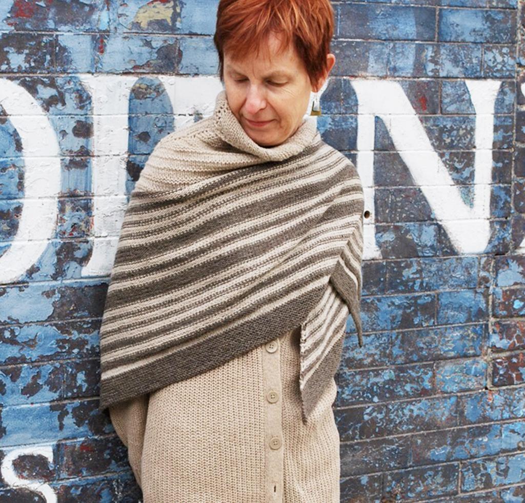 Finchmere Shawl Knitting Kit