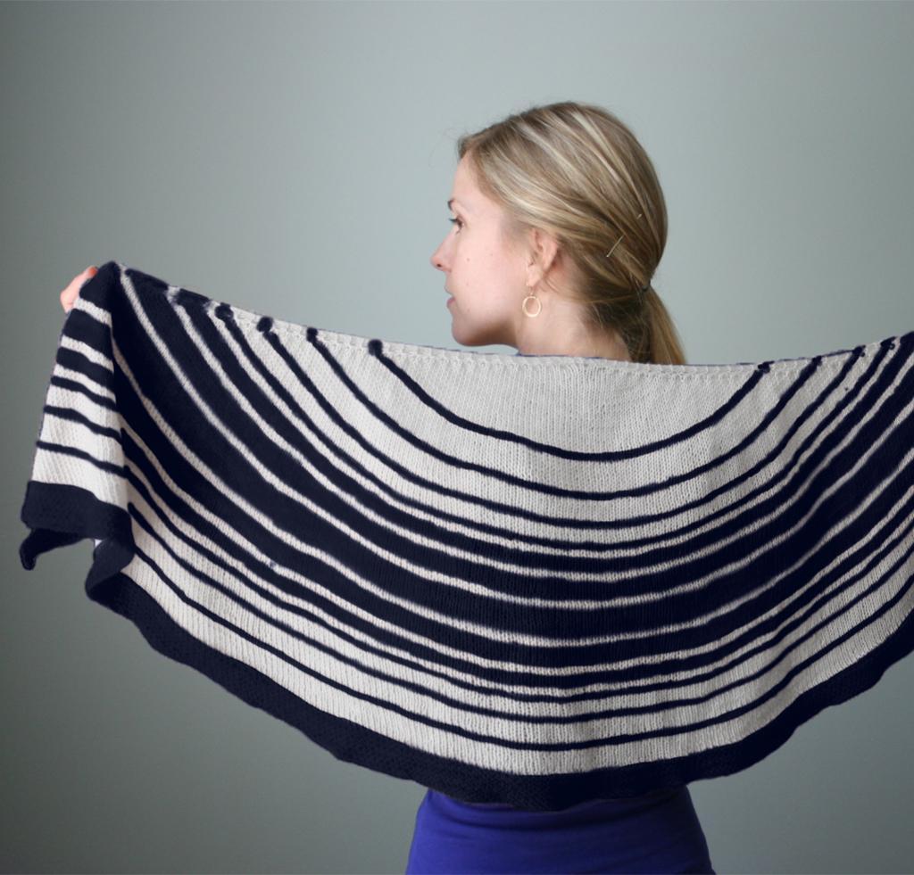Lunaris Shawl Knitting Kit