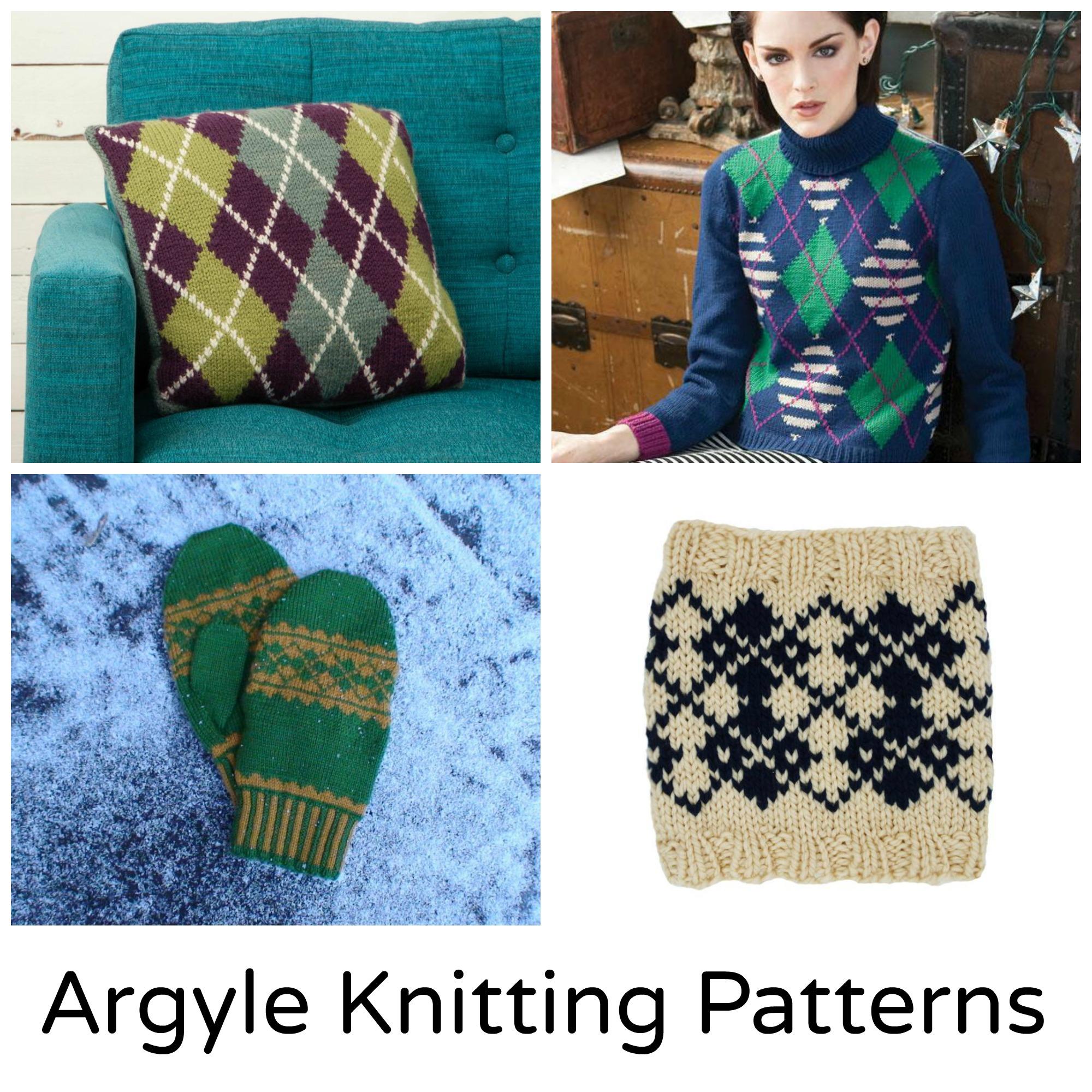 Argyle Knitting Patterns