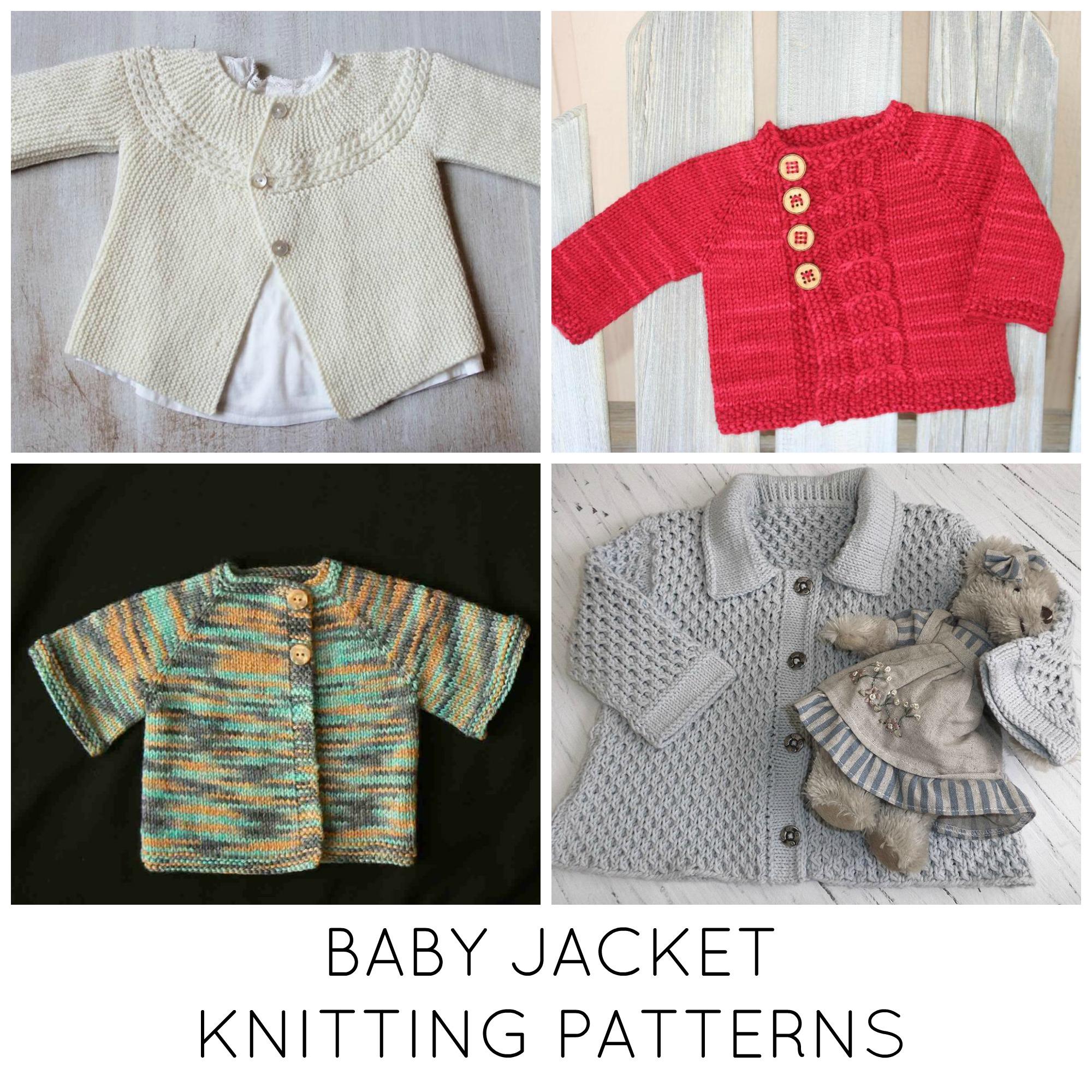 Baby Jacket Knitting Patterns