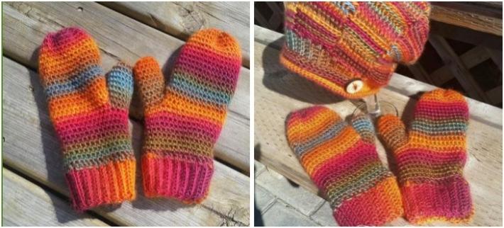 Unforgettable mittens for crochet mitten patterns