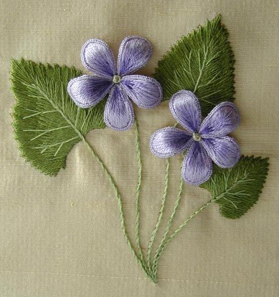 Wild Violets by Di van Niekerk