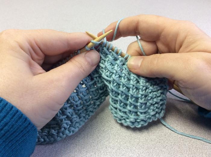 Bamboo Knitting Stitch - Knit 2
