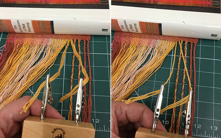 first step twisting groups for fringe