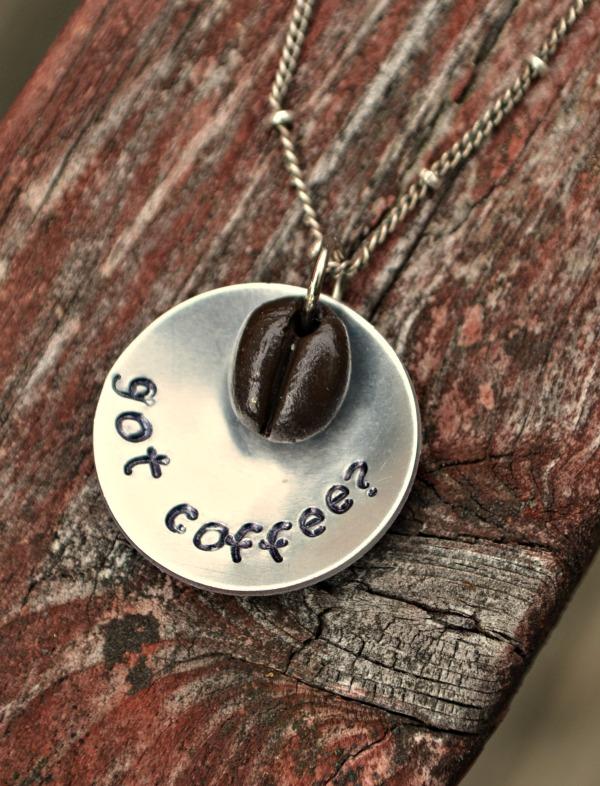 Got Coffee Necklace