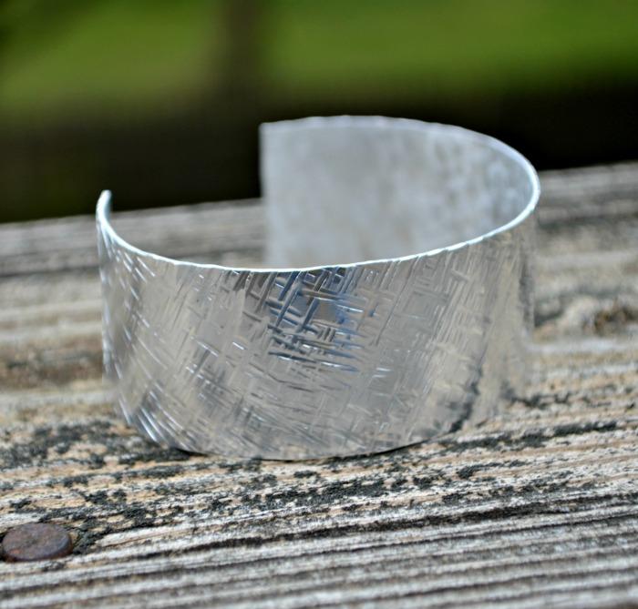 Textured Silver Cuff