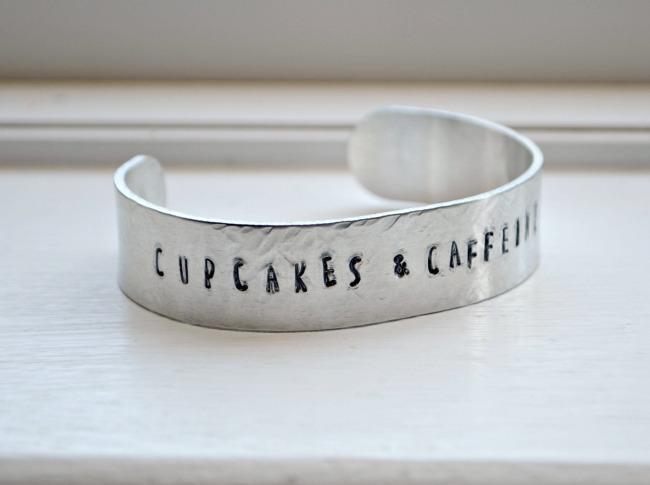 Stamped Metal Cuff