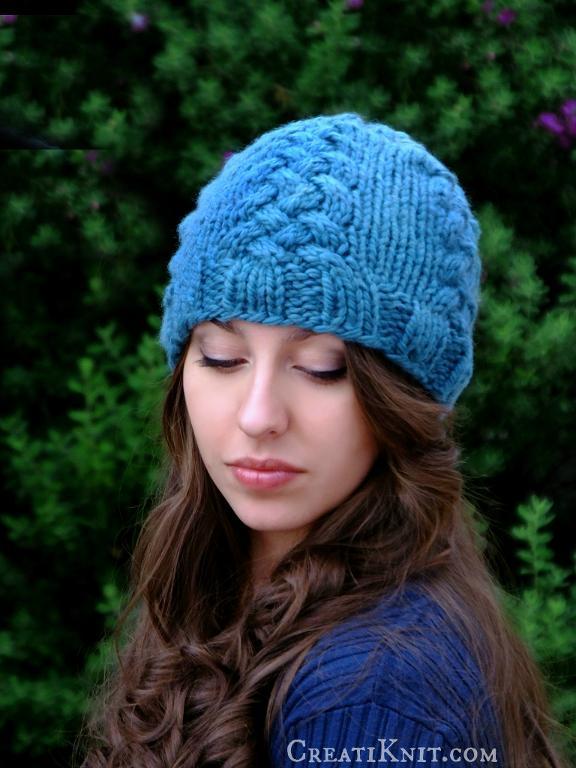 The Anya Beanie FREE Knitting Pattern