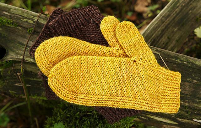 Maize FREE Mitten Knitting Pattern