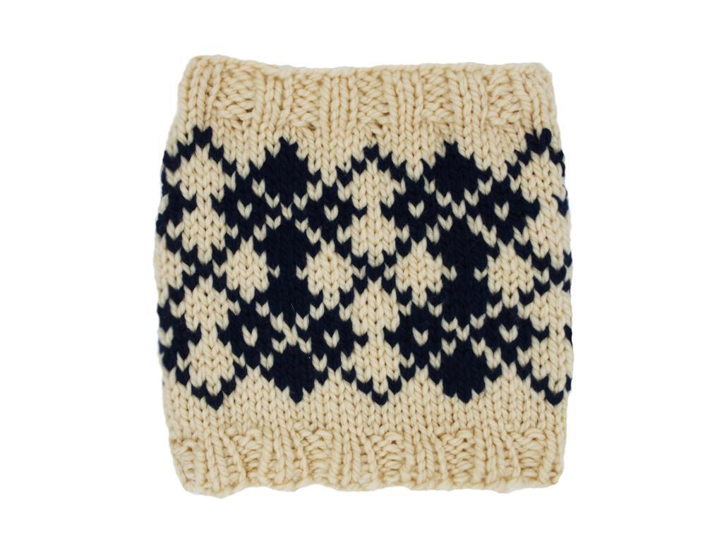 Argyle Cowl Knitting Pattern