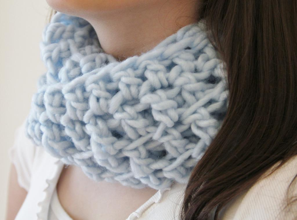 Loop Scarf Cowl Crochet Pattern