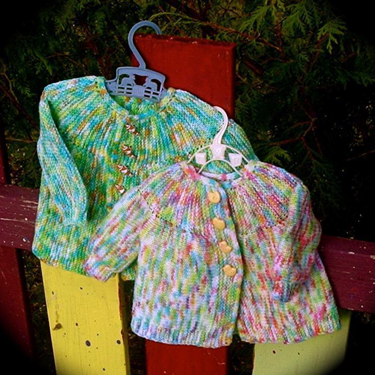 Easter Egg Sweater FREE Knitting Pattern