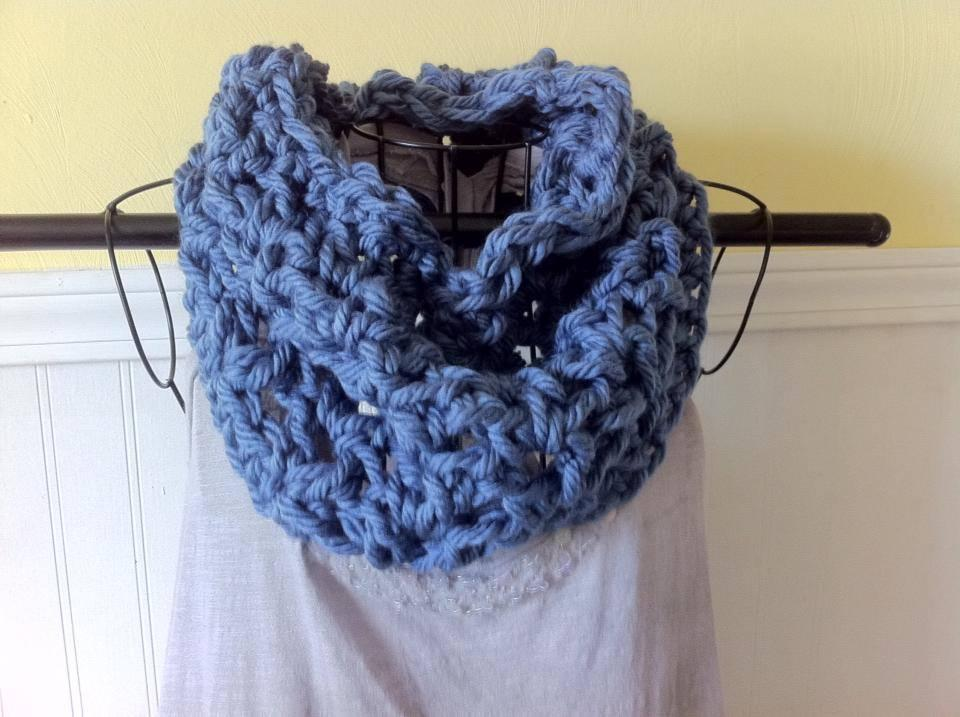 Super Bulky Cowl Crochet Pattern