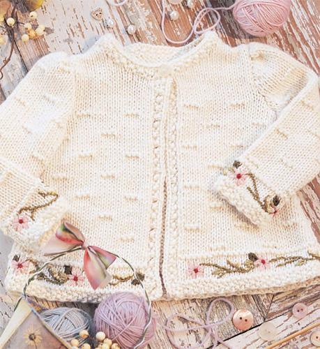 Baby Jacket Knitting Pattern