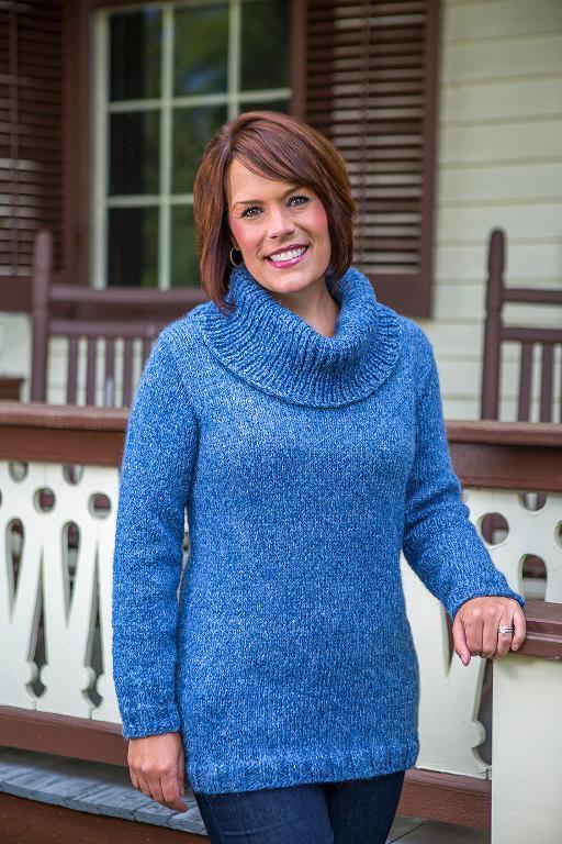 Killington Top-Down Pullover Knitting Pattern