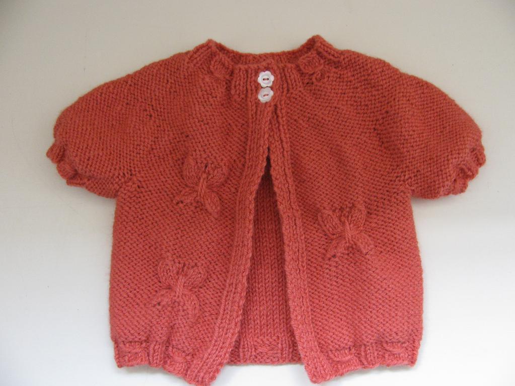 Farfalle Cardigan FREE Knitting Pattern