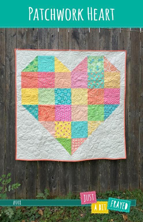 Patchwork Heart Baby Quilt Pattern