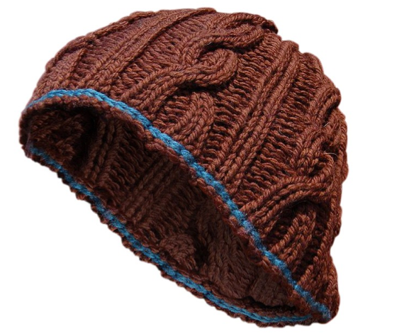 Snaky Cables Hat FREE Knitting Pattern