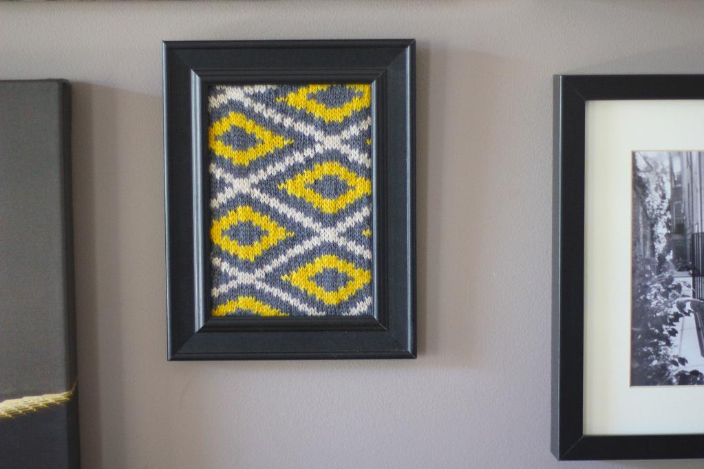 Excelsior Knitting Wall Art Pattern