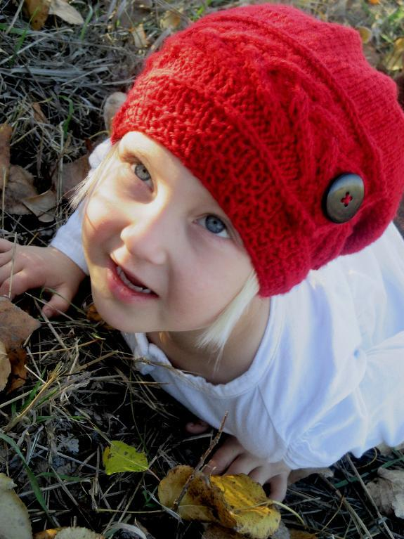 Song of Fall Slouch Hat FREE Knitting Pattern
