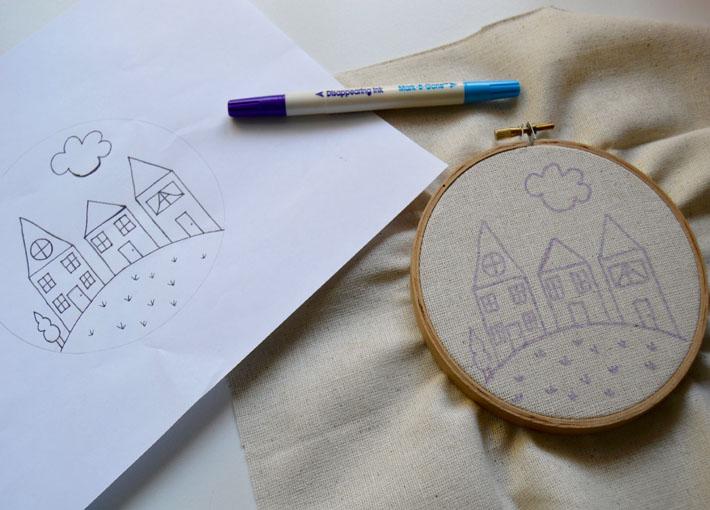 house pattern transfer