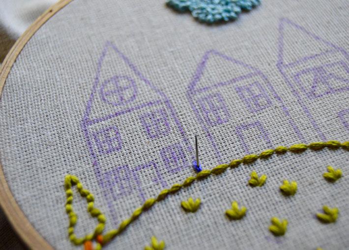 how to split stitch