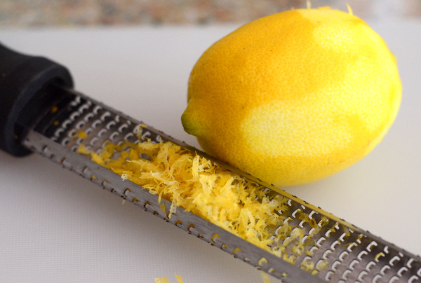 Fresh Lemon Juice & Zest in Lemon Ricotta Pancakes