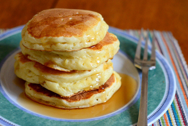 Light & Fluffy Lemon Ricotta Pancakes