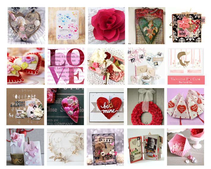 22 Beautiful Paper Craft Ideas for Valentines Day