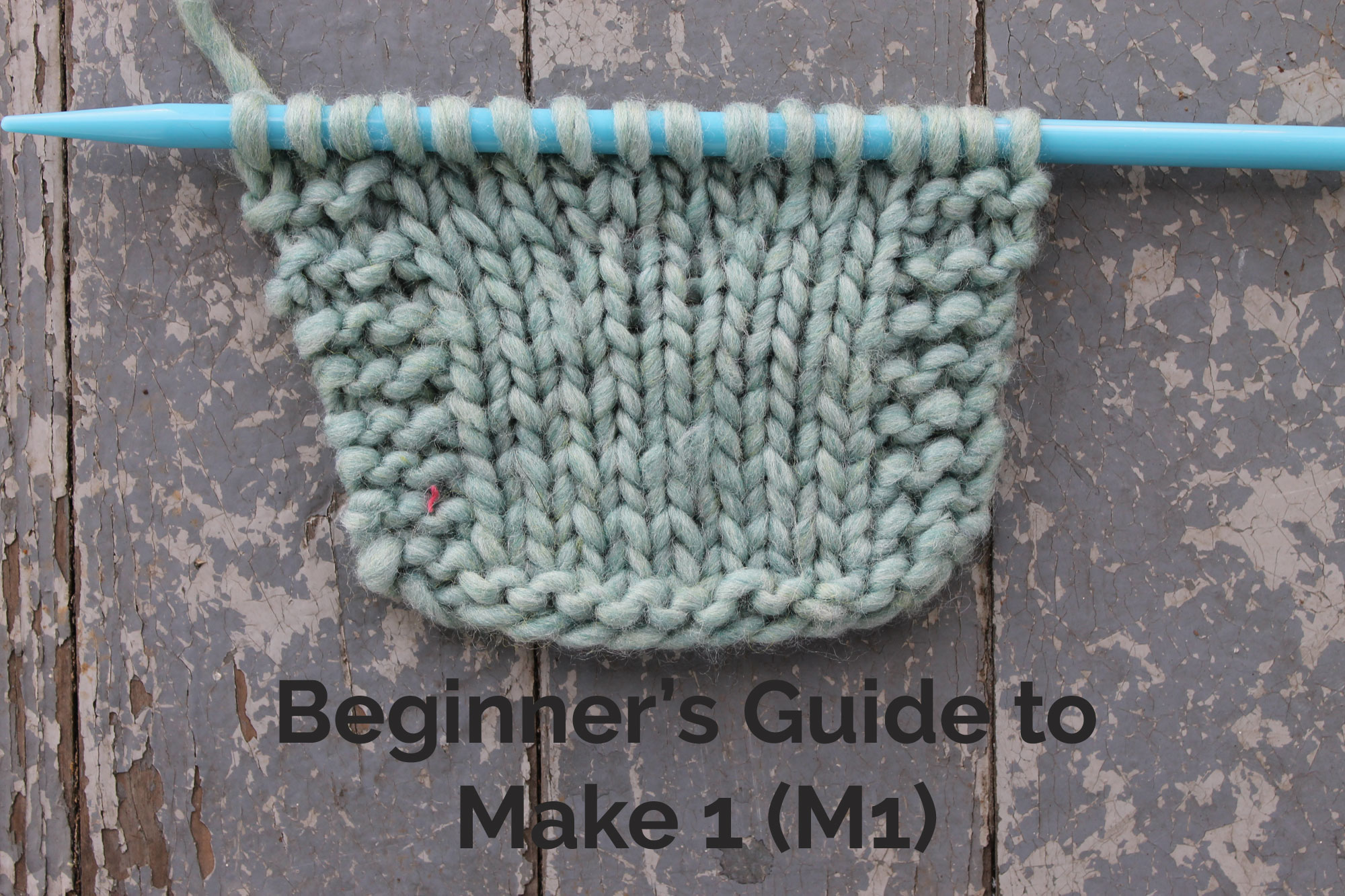 Beginner's Guide to Make One Knitting