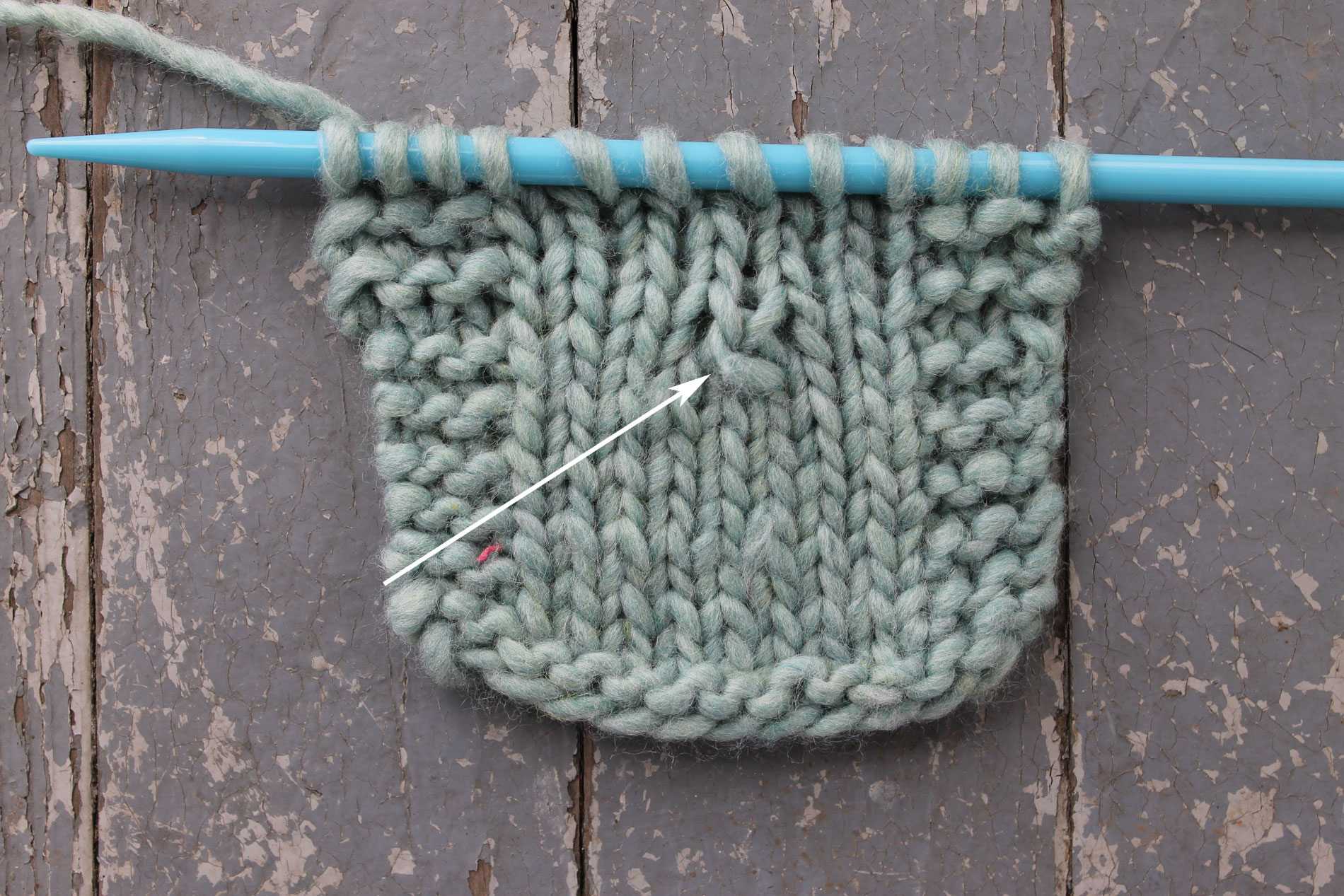 PSSO Knitting Swatch