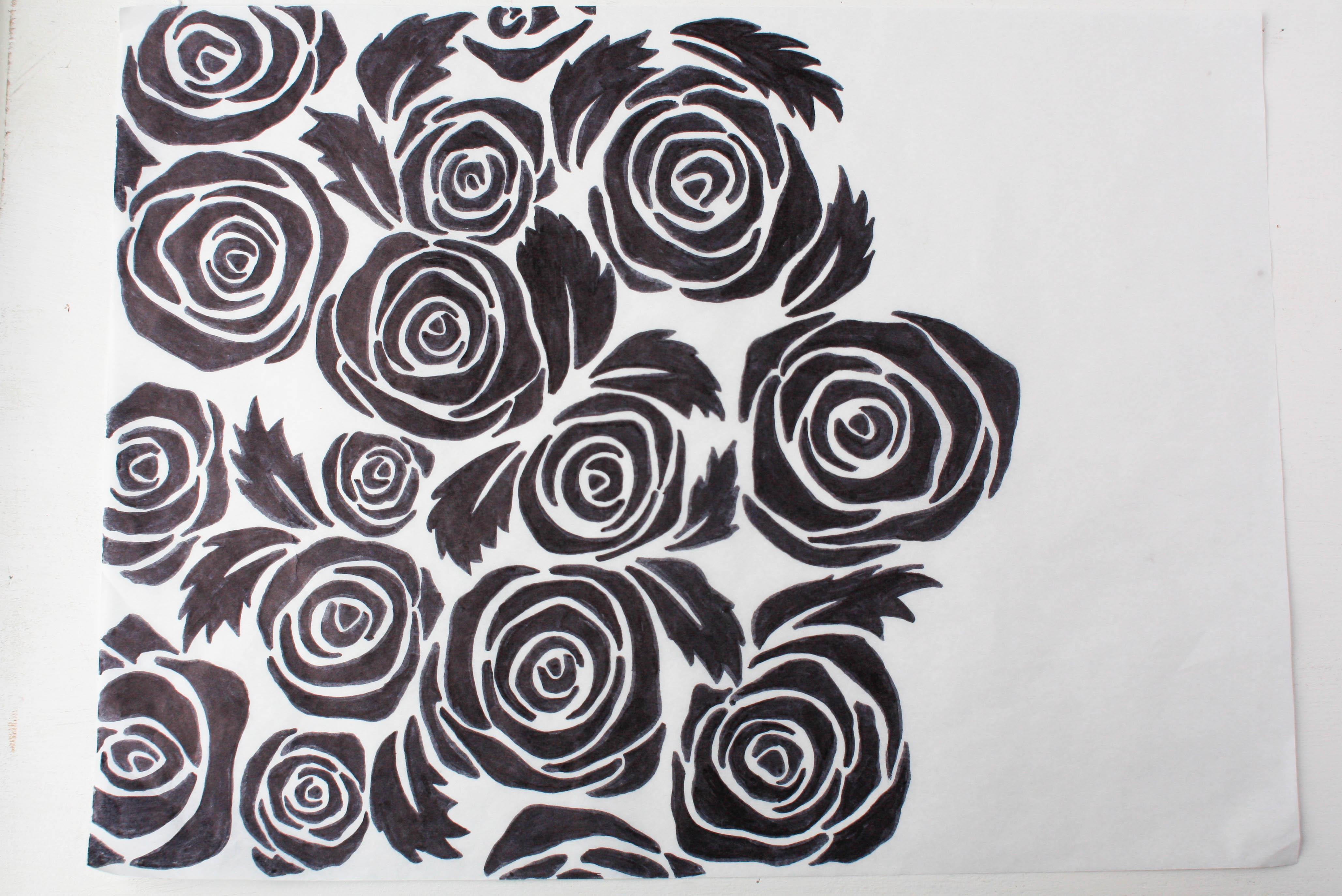 Rose Roll Cake Pattern | Erin Gardner | Bluprint