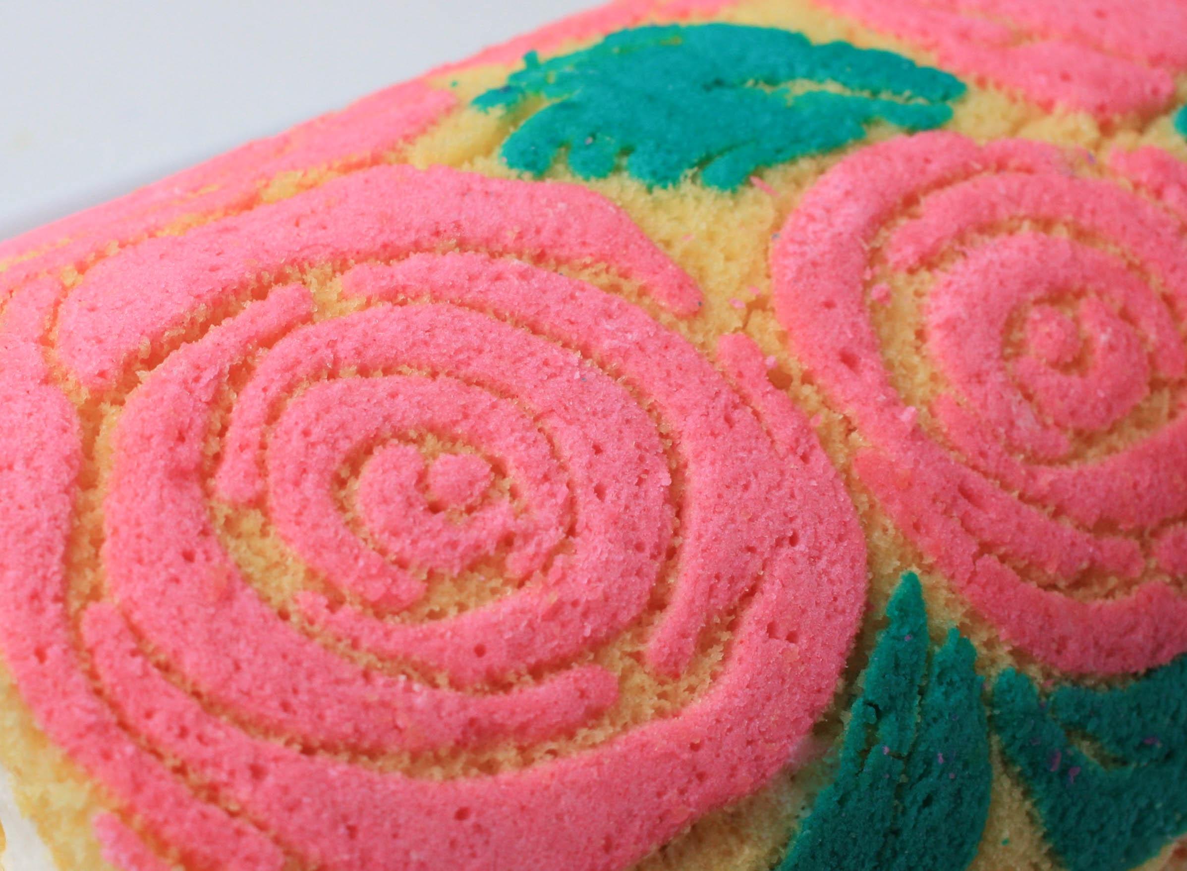 Pattern Created With Piped Cake Paste Recipe | Erin Gardner | Bluprint
