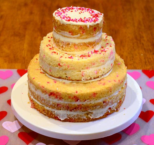 A Semi-Naked Cake