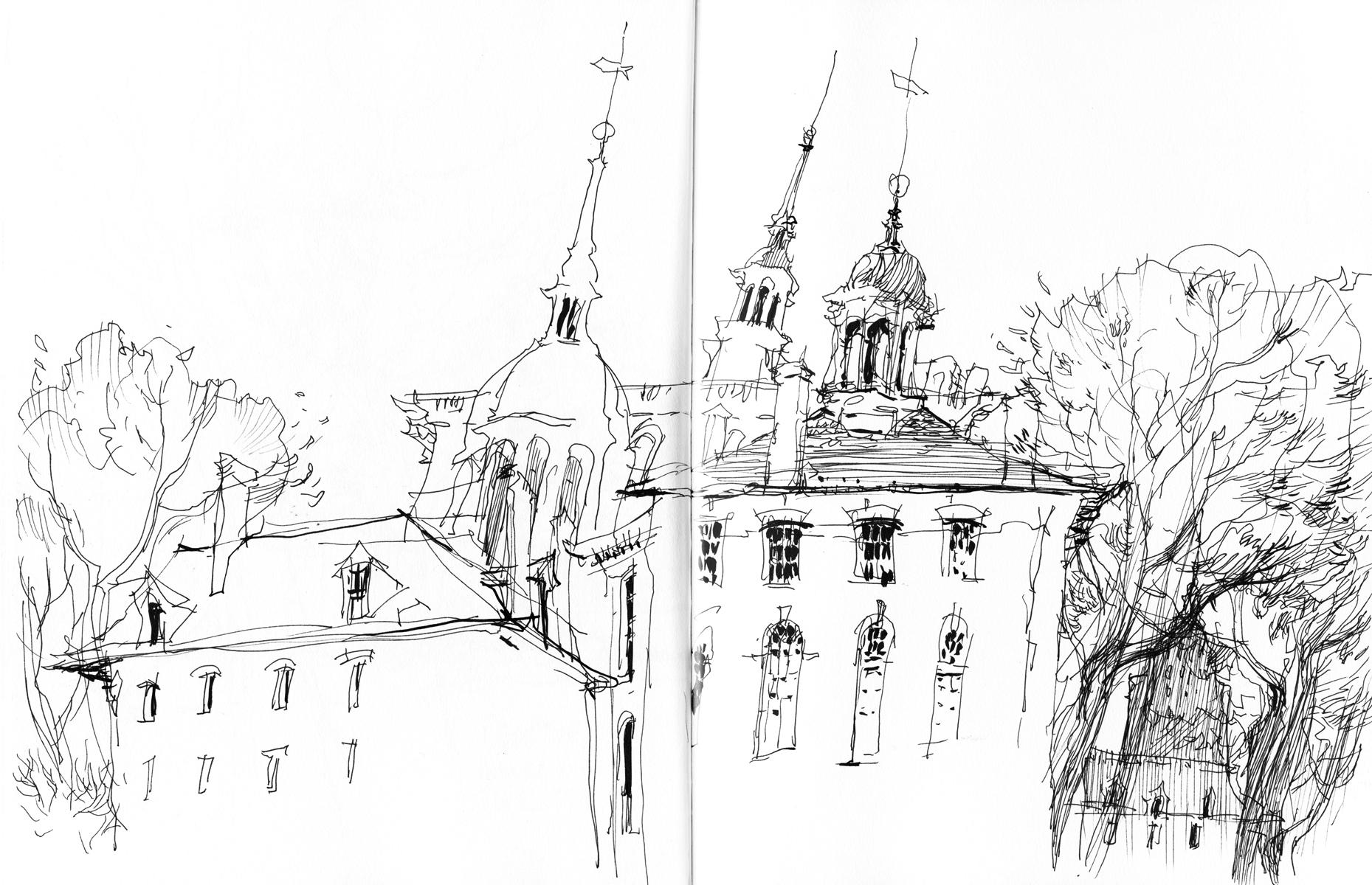 sketch of philadelphia by marc taro holmes