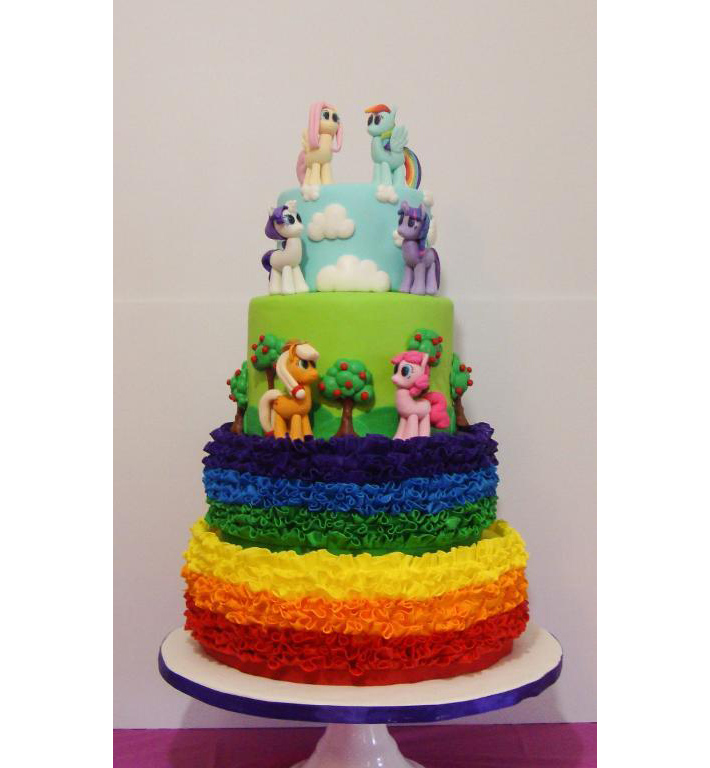 Pony birthday cake