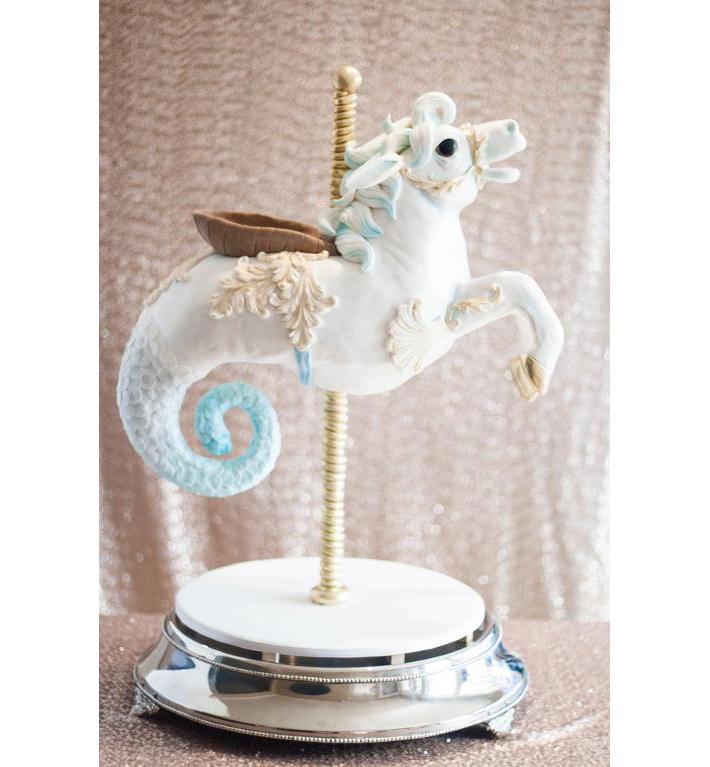 Sea horse cake
