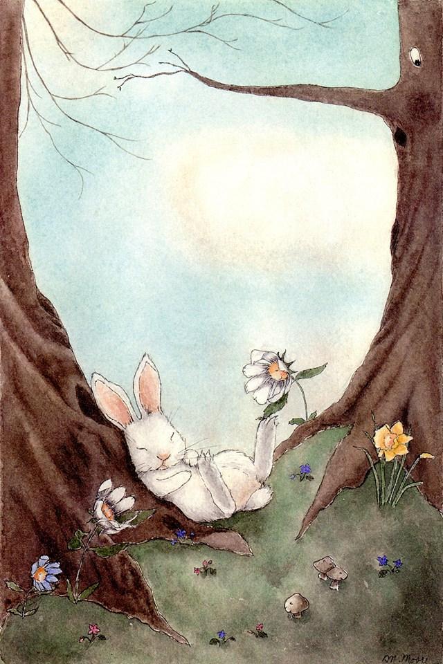 Whimsical bunny