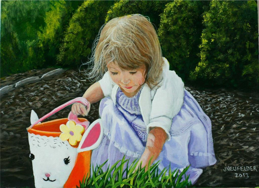 Easter Morning Painting