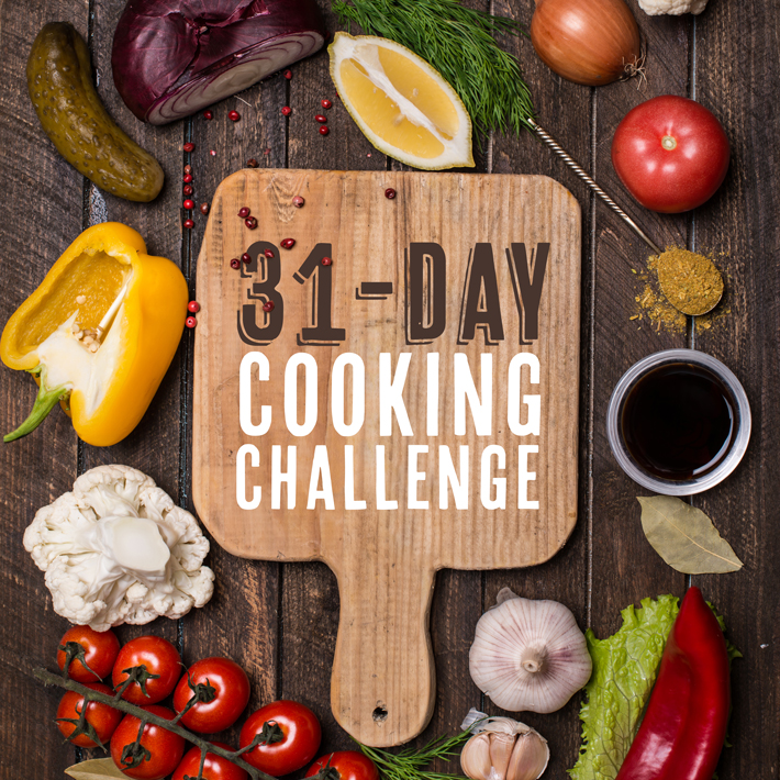 Bluprint 31 Day Cooking Challenge
