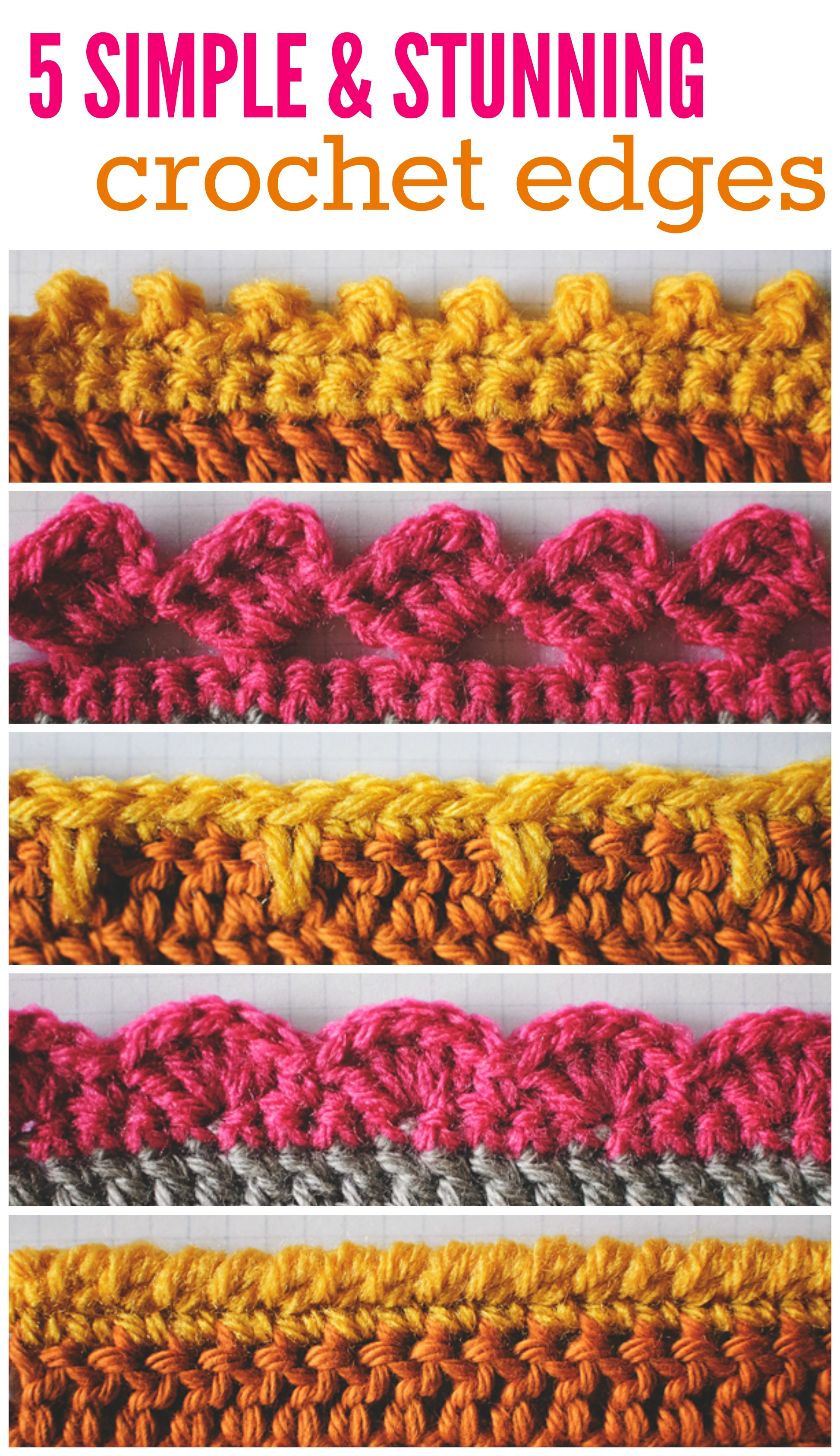Crochet Edge Pinterest